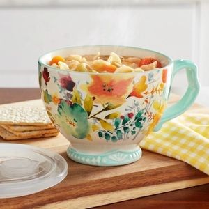🎈The Pioneer Woman Willow print Jumbo cup and lid